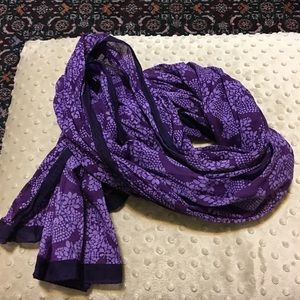 GAP Accessories - Shades of purple oblong scarf